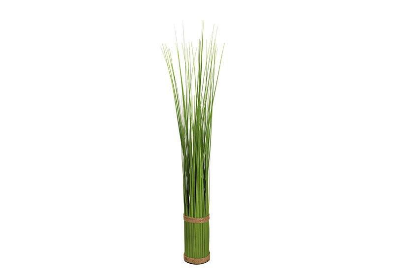 Standing grass bundle made of plastic green (H) 90cm