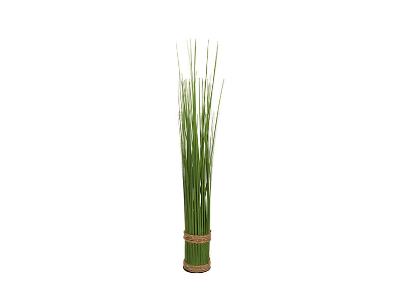 Standing grass bundle made of plastic green (H) 43cm