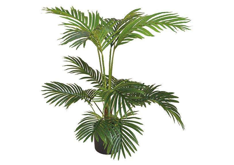 Artificial plant fern palm green (h) 100cm
