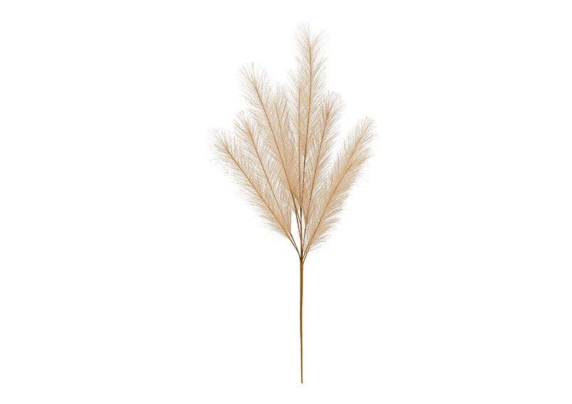 Plastic pampas grass beige (h) 91cm