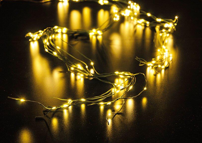 Lichterkette 200er LED in warmweiß, Multifunktion