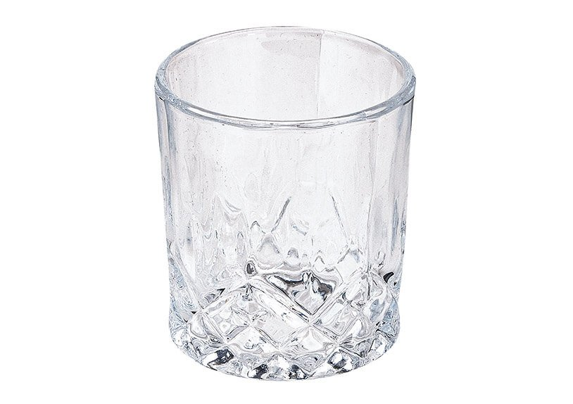 Whisky stainless steel cubes, 6 pcs, 2,7cm, with 1 pc black velvet bag, 2 pcs glass 210ml, 1 pc tong, in wooden box 23x10x21cm