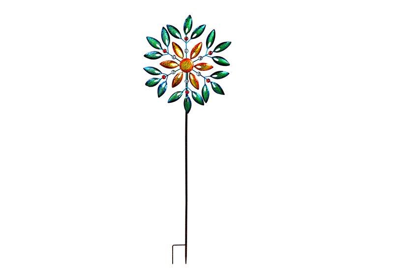 Plug windmill metal Colorful (W/H/D) 54x160x10cm