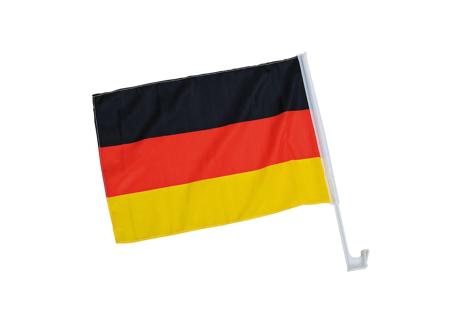 "CAR FLAG ""GERMANY"" POLYESTER 4 5X30CM"
