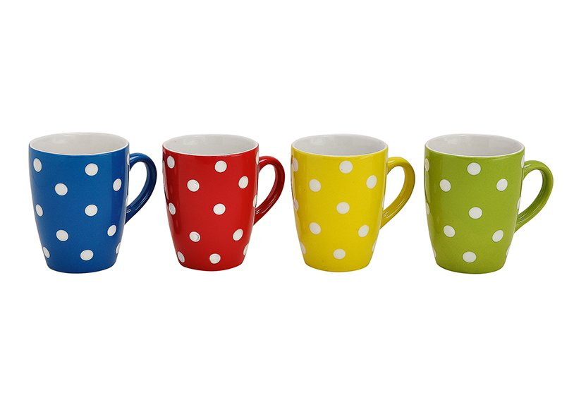 MUG W.POINTS CERAMIC ASSORTED 11CM
