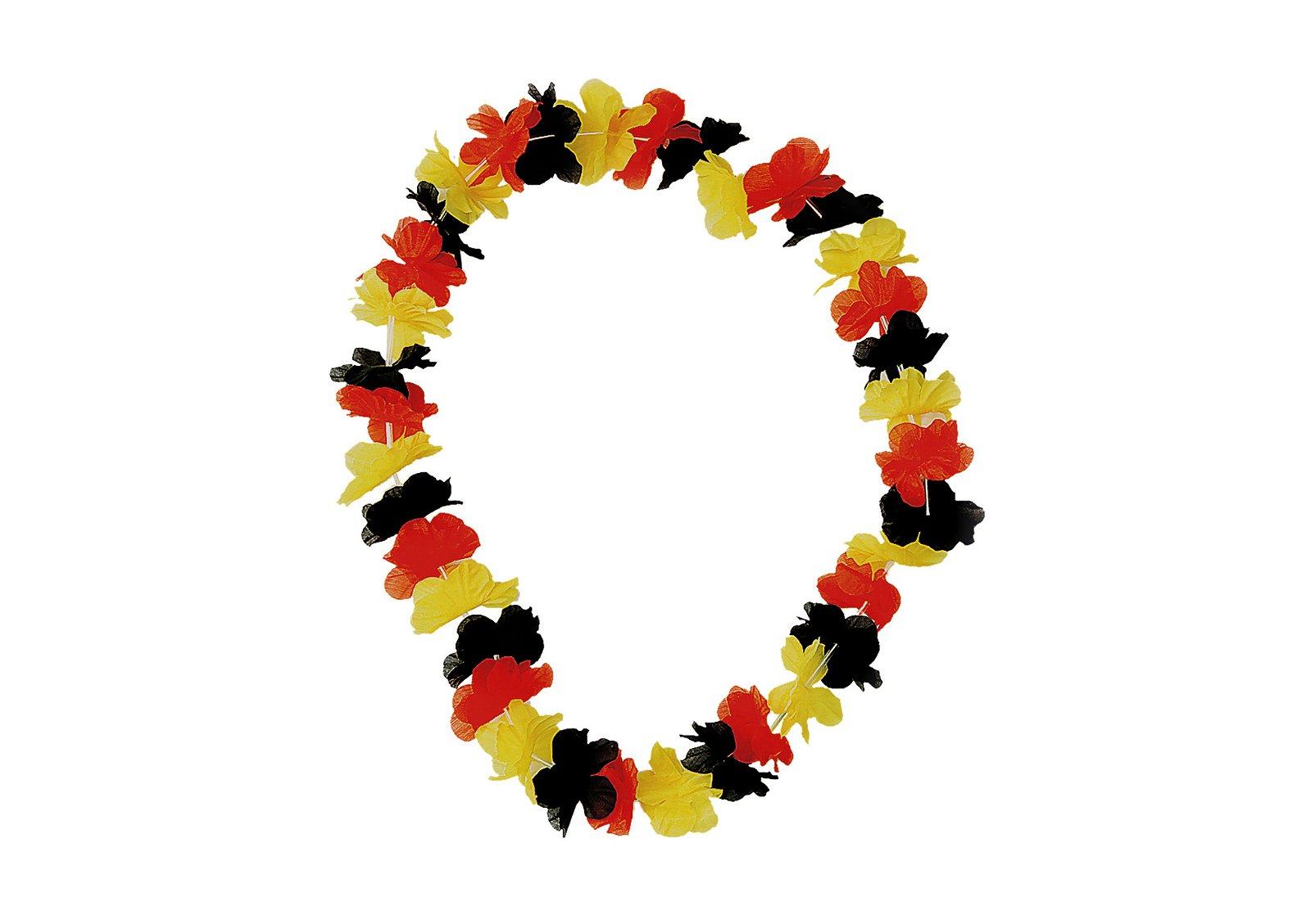 Blütenkette Deutschland, 72 Blütenblätter, 7cm dia