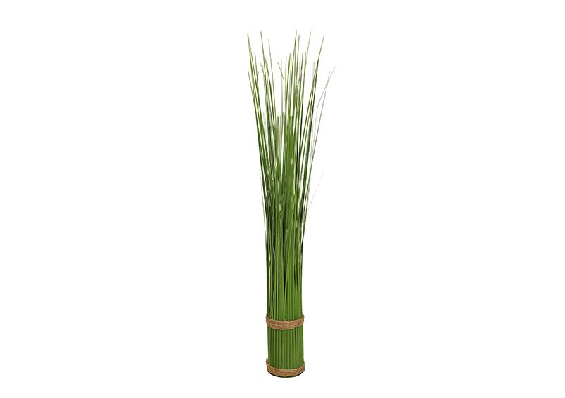 Standing grass bundle made of plastic green (H) 60cm