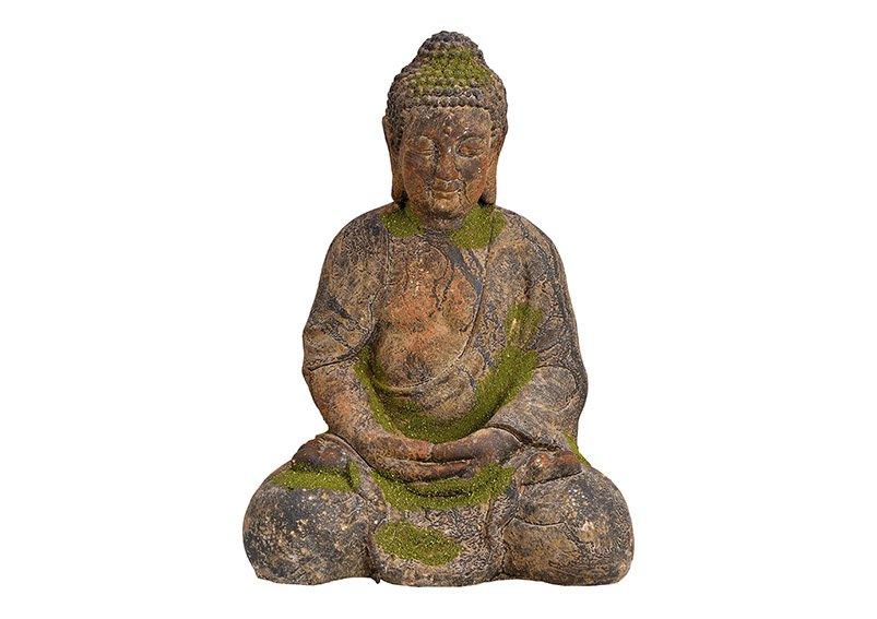 Buddha magnesia, vintage green, (W/H/D) 30x42x23cm